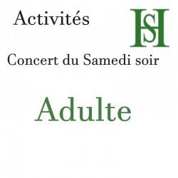Billet concert