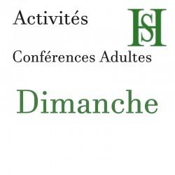 Place conférence Dimanche