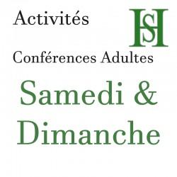 Place conférence Samedi &...